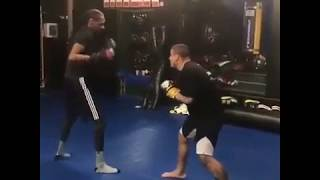 snoop dogg sparring in mma