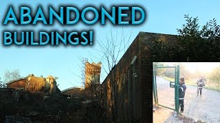 EXPLORING ABANDONED SCHOOL AND LEISURE CENTRE! (WE GOT CAUGHT)