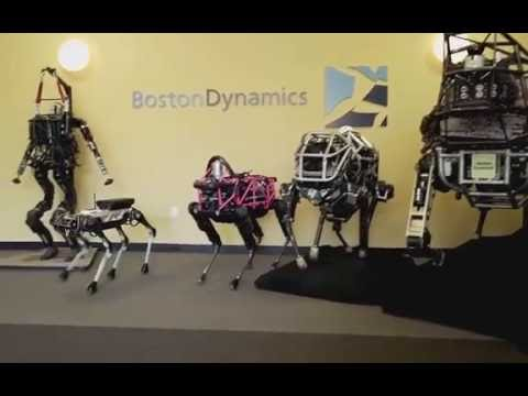 Boston Dynamics - Introducing the REAL Spotmini
