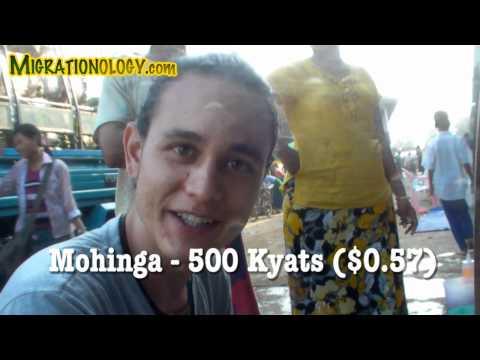 A Taste of Yangon, Burma (Myanmar) - Burmese Street Food Video