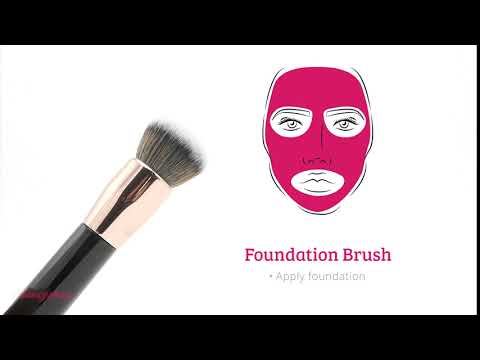 Boozyshop Boozyshop Ultimate Pro UP04 Foundation Brush