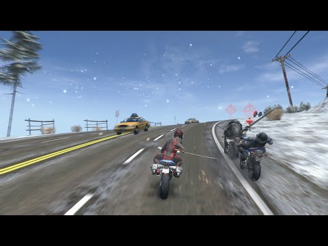 (OFFICIAL) Road Redemption Steam Early Access Trailer - 90 seconds of gameplay thumbnail