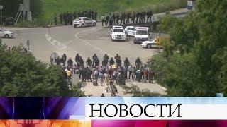 Босния и Герцеговина закрыла границу с Хорватией для предотвращения прибытия нелегальных мигрантов.