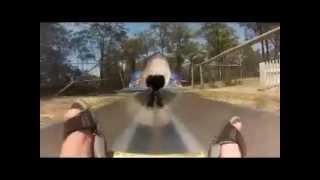 preview picture of video 'Magic Mountain, Merimbula's, mountain slide.MP4'