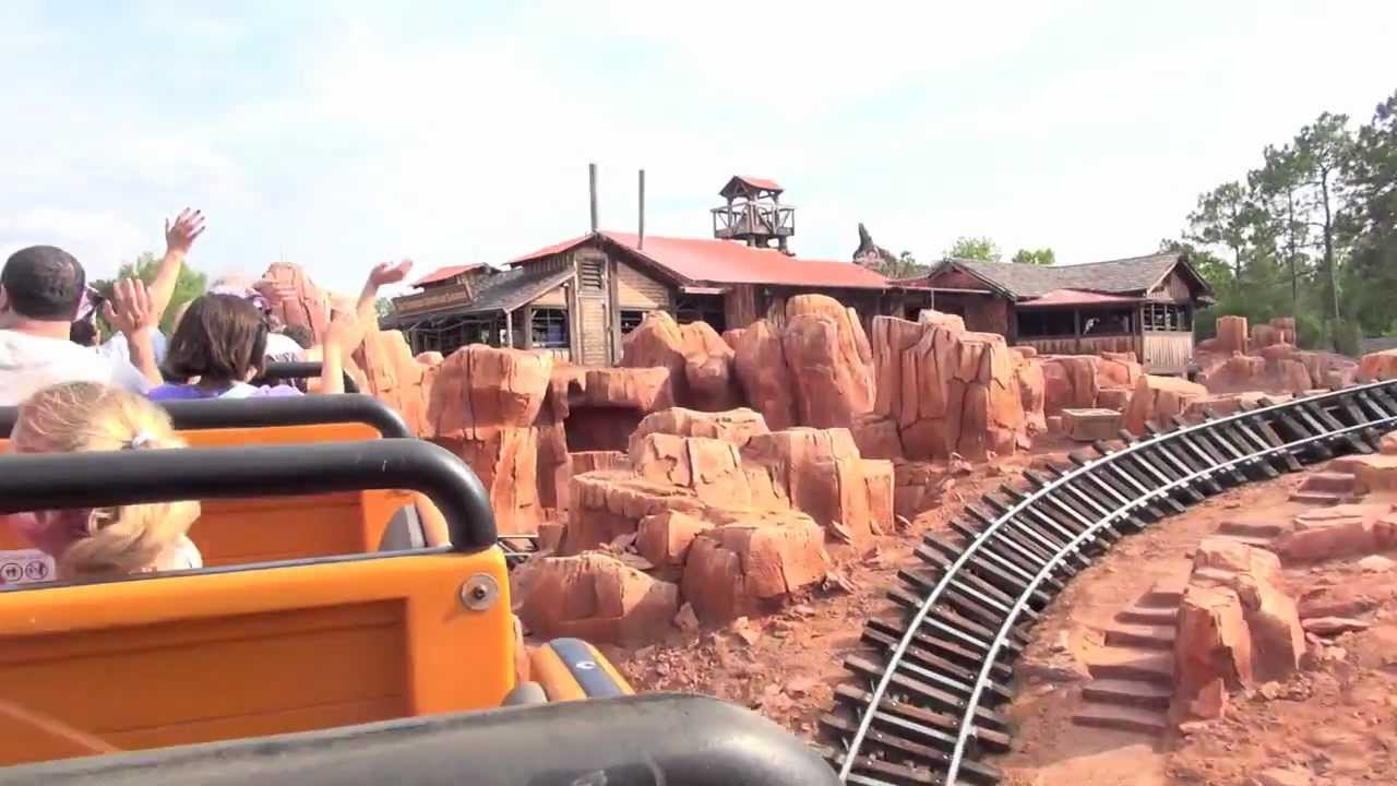 Big Thunder Mountain Railroad 2012 refurbishment