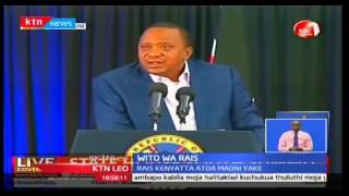 KTN Leo: Rais Uhuru akashifu dhana ya ukabila akiwa katika kongamano la vijana ,3/10/2016