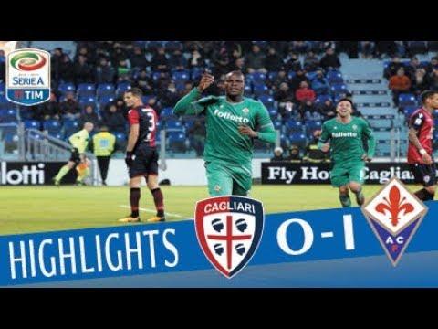 Cagliari - Fiorentina 0-1 - Highlights - Giornata 18 - Serie A TIM 2017/18