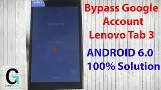 How to Bypass Google Account LENOVO Tab 4 - Unlcok FRP in