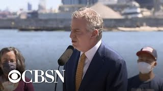 New York City Mayor Bill de Blasio on cutting NYPD funding
