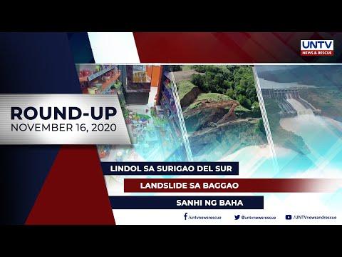 [UNTV]  UNTV NEWS ROUNDUP: Mga balitang dapat mong malaman (November 16, 2020)