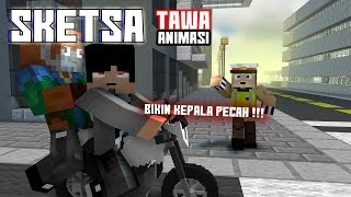 Ini Jadinya! Jika 4Brother Masuk Sketsa tawa Ft.Anited (Animasi Minecraft Indonesia)
