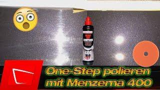 One-Step Politur? Lack polieren in einem Schritt mit Menzerna 400 an Haube und Heckklappe