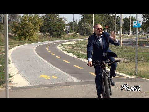 Új kerékpárutat adtak át Kistarcsán