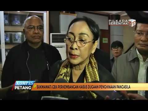 Sukmawati Cek Perkembangan Kasus Dugaan Penghinaan Pancasila