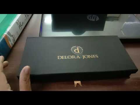 Flower Printed Gift Box