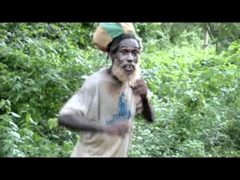 Rastaman singing in the bush (Negril / Jamaica)