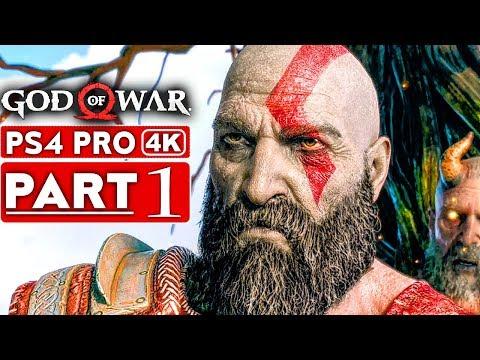 GOD OF WAR 4 Gameplay Walkthrough Part 1 [4K HD PS4 PRO] - No Commentary