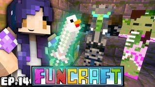 Chicken Sword & ZOMBIE YOUTUBERS?! | FunCraft Ep. 14