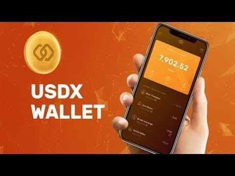 Assista esse vídeo e ganhe $8 Dólares GRÁTIS no Airdrop da USDX Wallet !