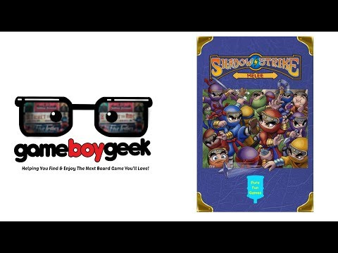 The Game Boy Geek Previews Shadow Strike: Melee