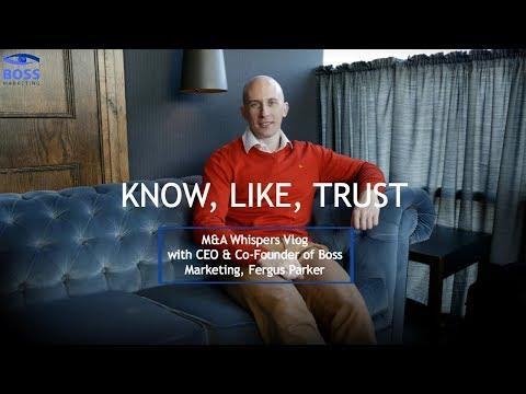 Know, Like & Trust
