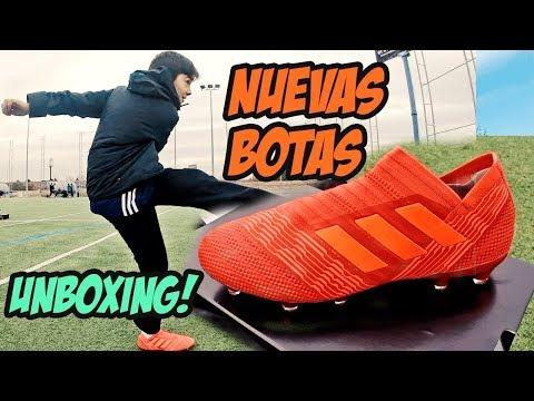 UNBOXING BOTAS DE FUTBOL ADIDAS NEMEZIZ 17 + COLD BLOODED