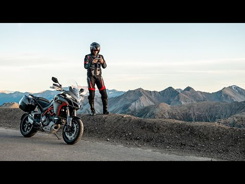 2020 Ducati Multistrada 1260 S Grand Tour in Medford, Massachusetts - Video 1