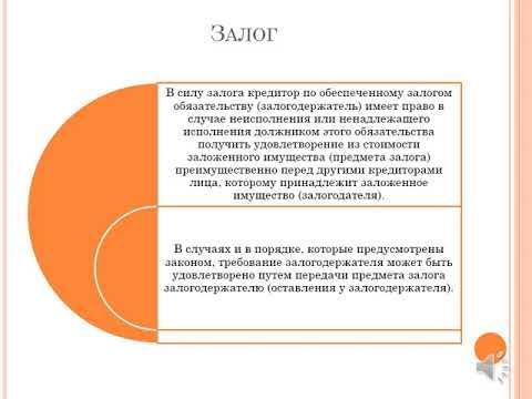 Лекция 2 Общая часть обязательственного права
