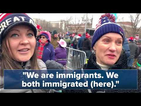 Trump supporters sound off at Milwaukee rally