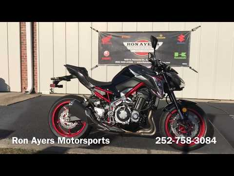 2019 Kawasaki Z900 in Greenville, North Carolina - Video 1