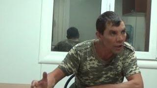 Пьяный украинский пограничник пришёл брататься в Крым