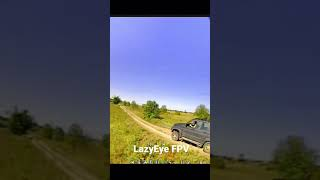 DVR of my 1st FPV car chase!