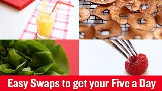 British Heart Foundation - Easy swaps to get your Five a Day