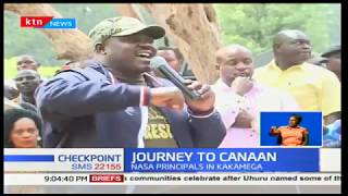 Journey To Canaan: NASA's Raila Odinga still insists that he will be sworn in