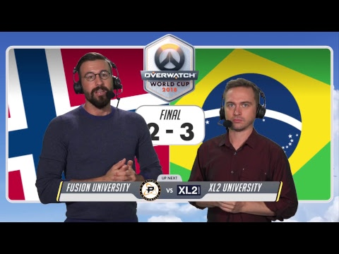 Overwatch World Cup USA 2018 - Day 1