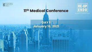 Virtual Medical Conference 2020: REOPERATIVE ENDOMETRIOSIS – Day 1