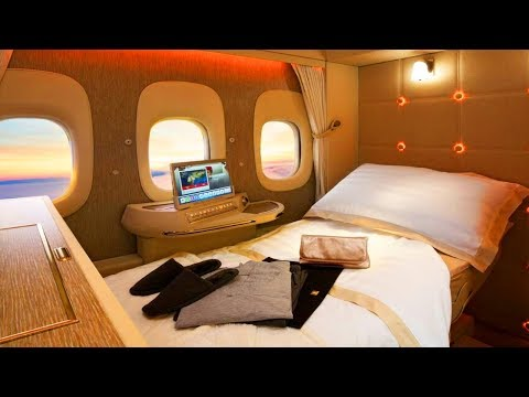 The Most Expensive First Class Seat IN THE WORLD!
