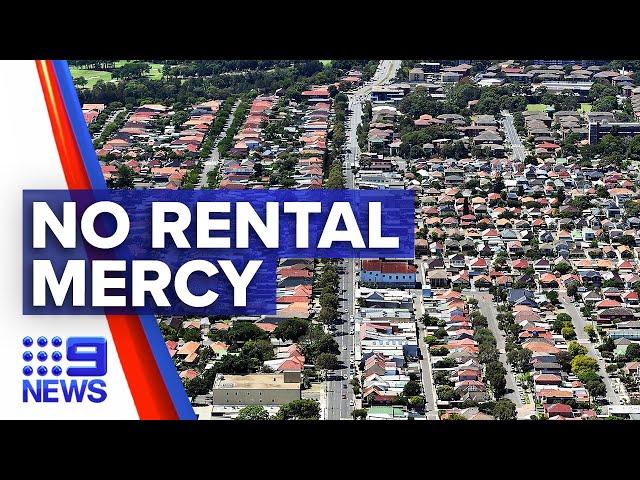 Coronavirus: Aussies face eviction with rising unemployment | Nine News Australia