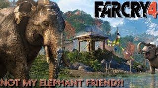 Far Cry 4: Madness Maps - THEY KILLED MY ELEPHANT!