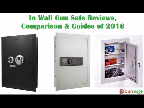 In Wall Gun Safe Reviews, Comparison & Guides of 2017