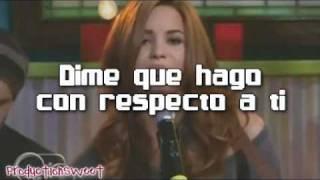 What To Do - Demi Lovato - Español [Lyrics] Official Music Video