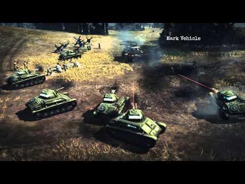 Company of Heroes 2: Soviet Commander - Mechanized Support Tactics