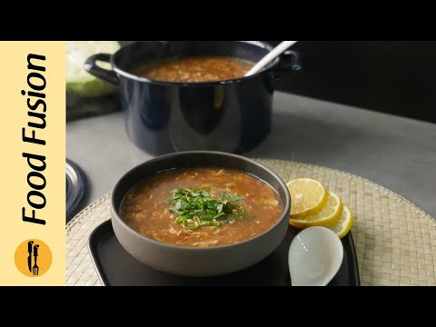 Schezwan Soup Recipe By Food Fusion