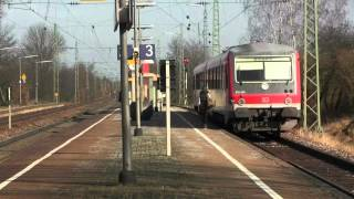 preview picture of video 'Bahnhof Radldorf (Niederbayern) 16.03.2012'
