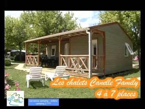 Gervanne camping Chalet canelle Family