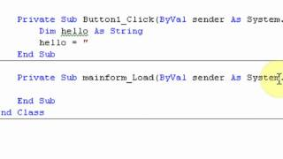 How to create your own Software part 3 : Variables/Anchoring