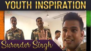 Indian Idol Season 10 Contestant 2018 : Surinder Singh | Sandese Aate Hain |  BSF | News India