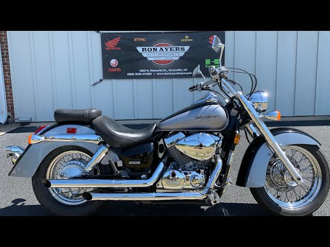 2005 Honda Shadow Aero® 750 in Greenville, North Carolina - Video 1