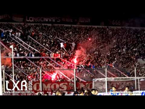 """""""Yo era Campeón, vos te ibas al Descenso vs Velez - Inicial 2012 2º Fecha"""" Barra: La Barra del Rojo • Club: Independiente"""