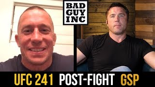 Georges St-Pierre responds to Nate Diaz callout...